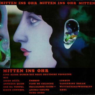 Various - Mitten Ins Ohr (2xLP, Comp)