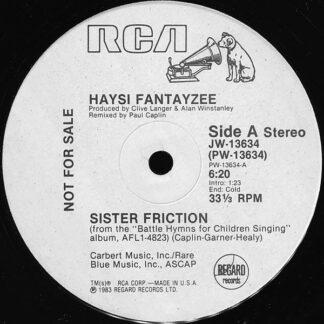 """Haysi Fantayzee - Sister Friction (12"""", Promo)"""
