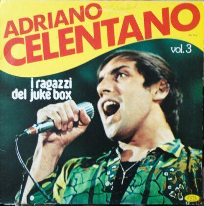 Adriano Celentano - I Ragazzi Dei Juke Box - Vol. 3 (LP, Comp)