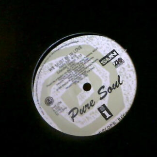 "Pure Soul - We Must Be In Love (12"", Promo)"