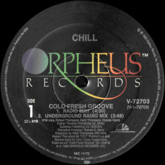 "Chill (4) - Cold Fresh Groove (12"")"