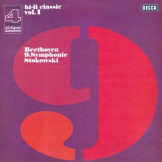 Beethoven* — Stokowski* - 9.Symphonie (Hi-fi Classic Vol.1) (LP, Album)