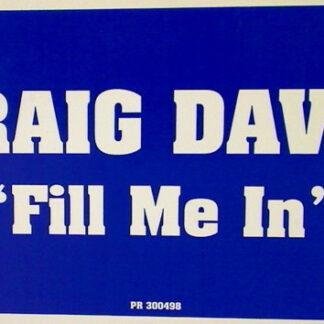 Craig David - Fill Me In (12