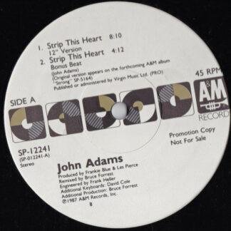 John Adams (3) - Strip This Heart (12