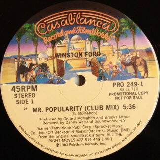 "Winston Ford - Mr. Popularity (12"", Promo)"