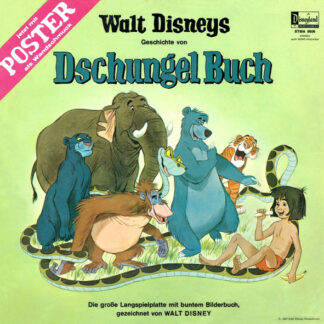 Walt Disney - Dschungel Buch (LP, Gat)