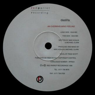 "Dastrix - An Overwhelming Feeling (12"")"