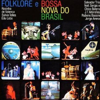 Various - Folklore E Bossa Nova Do Brasil (LP, Album, Gat)