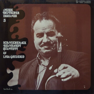 Schnuckenack Reinhardt Quintett & Lida Goulesco - Musik Deutscher Zigeuner 3 (LP, Album)