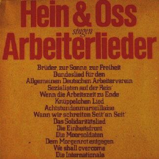 Hein & Oss* - Singen Arbeiterlieder (LP, Album, Gat)