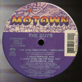 The Boys - The Saga Continues ... (Remix) (12
