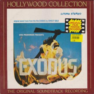 Ernest Gold - Exodus (The Original Soundtrack Recording) (LP, Album, RE)