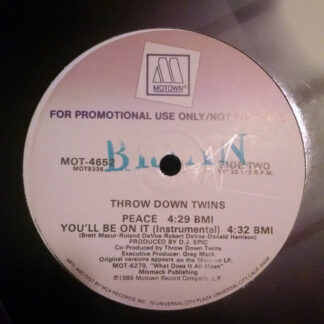 Throw Down Twins - You'll Be On It (12