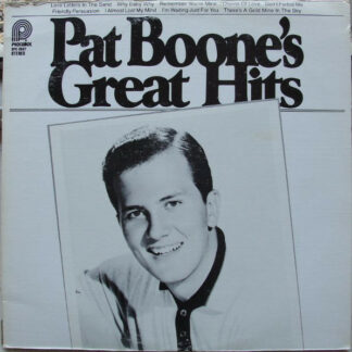 Pat Boone - Great Hits (LP, Comp, RE, Abr)