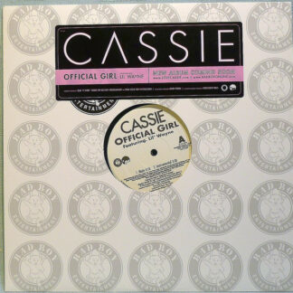"Cassie (2) feat. Lil' Wayne* - Official Girl (12"", Promo)"