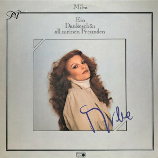 Milva - Ein Dankeschön All Meinen Freunden (LP, Comp, Club)