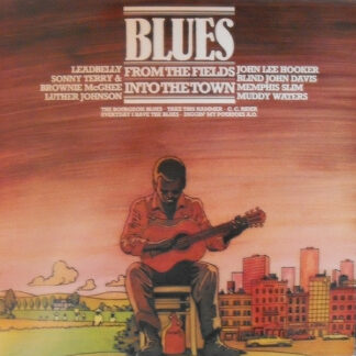 Various - Blues - From The Fields Into The Town (LP, Comp)