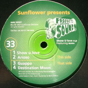 "Prophets Of Sound - Show U Love E.P. (12"", EP)"