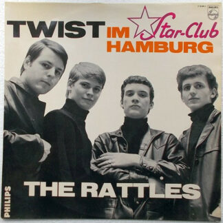 The Rattles - Twist Im Star-Club Hamburg (LP, Album, Mono)