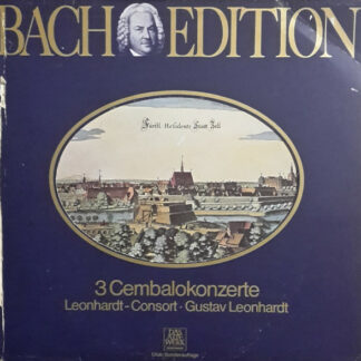 J. S. Bach* / Leonhardt-Consort, Gustav Leonhardt - Bach Edition: 3 Cembalokonzerte (LP, Album, Club)