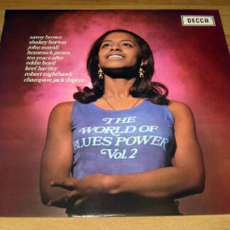 Various - The World Of Blues Power Vol. 2 (LP, Comp)
