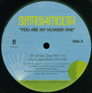 "Smashmouth* - You Are My Number One (12"")"