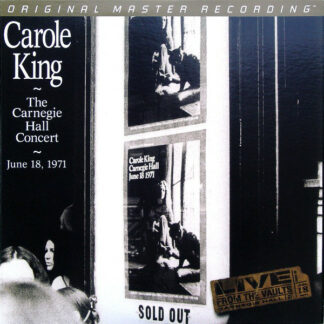 Carole King - The Carnegie Hall Concert (2xLP, Album, Ltd, Num, RE, RM, S/Edition, 180)