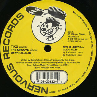Tikko* Presents The Groove (4) Featuring Dawn Tallman - Feel It (12