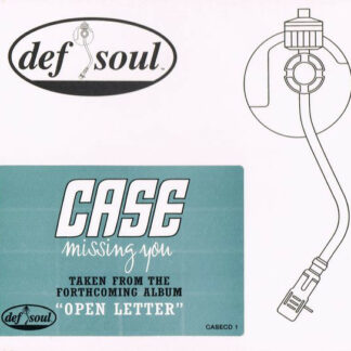 "Case - Missing You (12"", Single, Promo)"