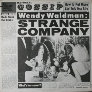 Wendy Waldman - Strange Company (LP, Album, Jac)
