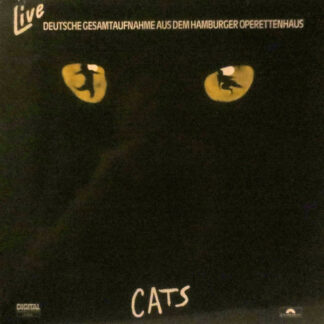 Andrew Lloyd Webber - Cats Live - Deutsche Gesamtaufnahme Aus Dem Hamburger Operettenhaus (2xLP, Album)
