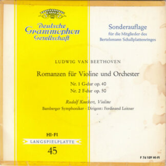 Ludwig van Beethoven - Rudolf Koeckert - Romanzen Für Violine Und Orchester (7