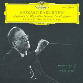 Mozart* • Karl Böhm, Berlin Philharmonic Orchestra* - Symphonies No. 40 In G Minor · No. 41 (Jupiter) (LP)