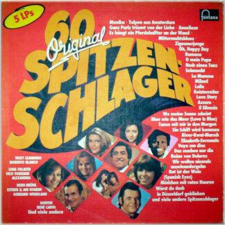 Various - 60 Original Spitzen-Schlager (5xLP, Comp + Box)