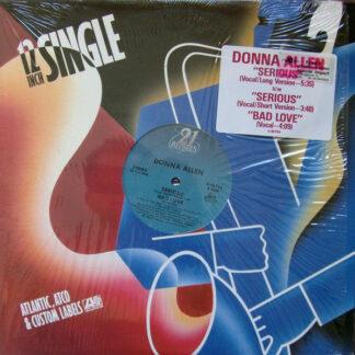 "Donna Allen - Serious (12"", Single, SP )"