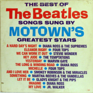 Various - The Best Of The Beatles Songs Sung By Motown's Greatest Stars (LP, Comp)