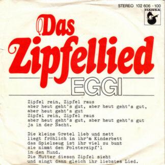 "Eggi* - Das Zipfellied (7"", Single)"