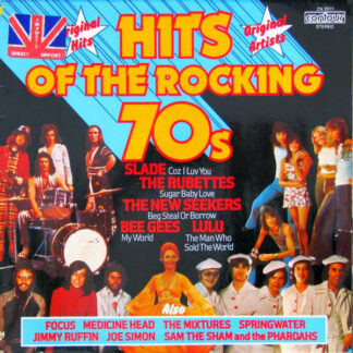 Various - Hits Of The Rocking 70s (LP, Comp, RE)