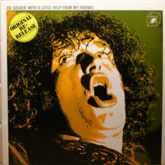 Joe Cocker - With A Little Help From My Friends (LP, Album, RE)