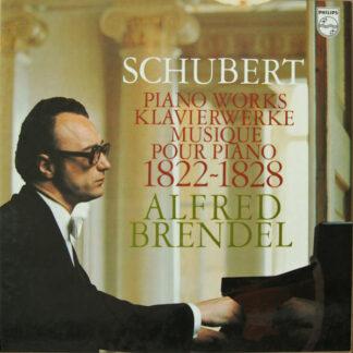 Schubert*, Alfred Brendel - Piano Works - Klavierwerke - Musique Pour Piano - 1822-1828 (8xLP, Comp + Box)