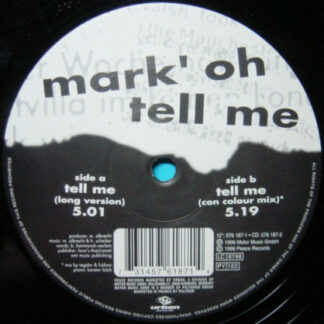 Mark 'Oh - Tell Me (12