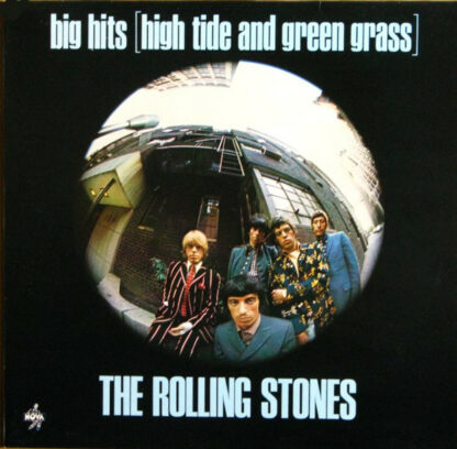 The Rolling Stones - Big Hits (High Tide And Green Grass) (LP, Comp, RE)