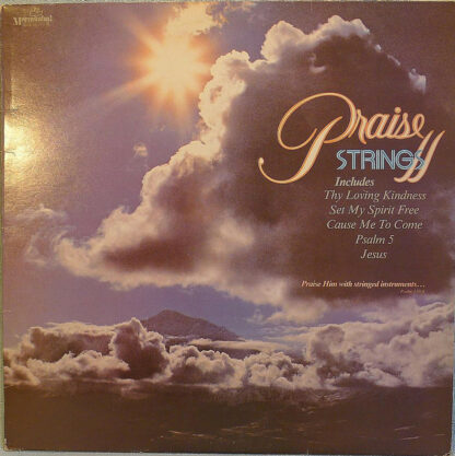Praise Strings - Praise Strings, Volume II (LP, Album)