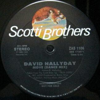 "David Hallyday - Move (12"", Promo)"