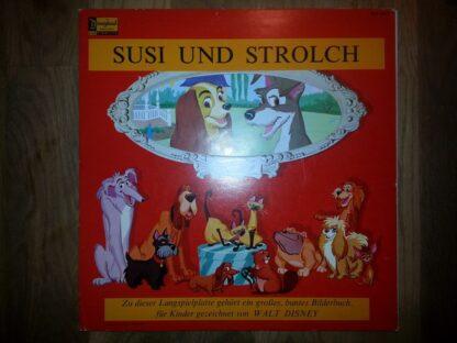 Unknown Artist - Walt Disneys Susi Und Strolch (LP, Album)