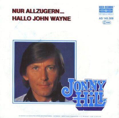 "Jonny Hill - Nur Allzugern (7"", Single)"