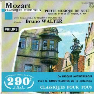 Mozart* / The Columbia Symphony Orchestra*, Bruno Walter - Petite Musique De Nuit (7