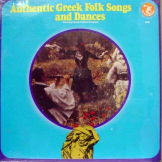 The Royal Greek Festival Company - Authentic Greek Folk Songs And Dances (LP)