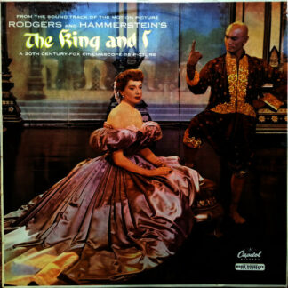 Rodgers And Hammerstein* - The King And I (Motion Picture Sound-track) (LP, RE, Rai)