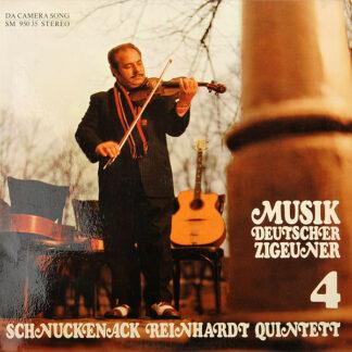 Schnuckenack Reinhardt Quintett - Musik Deutscher Zigeuner 4 (LP, Album)
